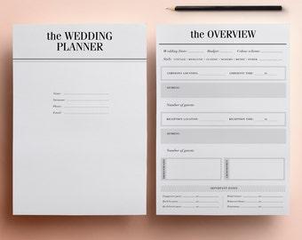 wedding planning checklist budget