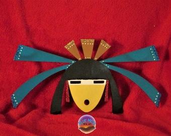 Yei, Native American, Indian, Southwestern, Wall Hanging, Metal Art