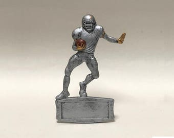 "Unique 7"" Magnetic Football Resin Award ~ Custom Engraving"