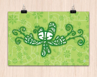 "12x9"" Grow Green (Color Print)"