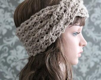 Crochet Pattern - Headband Crochet Pattern - Criss Cross Headband - Turban Style Ear Warmer Crochet Pattern - Baby, Toddler, Child, Adult