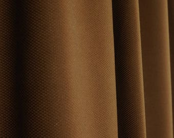 Chocolate Brown Textured Upholstery Fabric