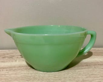 Fire King Jadeite 3/4 Rim Batter Bowl