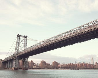 New York photography, canvas art, large wall art, New York print, New York prints, New York City, NYC, New York canvas art Willimabsurg