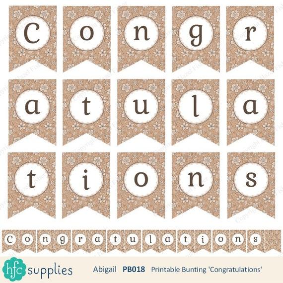 congratulations banner free printable koni polycode co