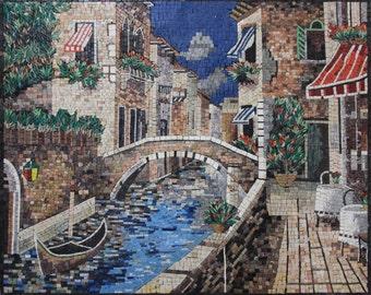 Exquisite Colorful Italian Scene Venus Home Art Marble Mosaic LS153
