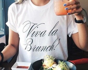 VIVA LA BRUNCH Mimosa Ladies Tee