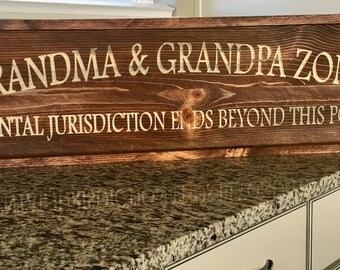 Grandma & Grandpa zone