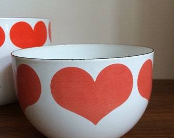 Finel heart bowl Kaj Franck medium size