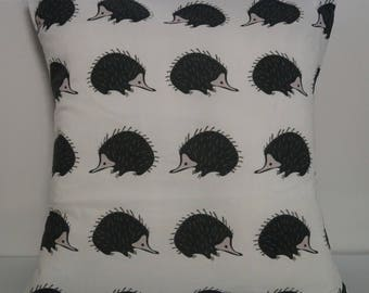 Echidna cushion - white