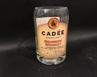 Cadee Candle/Cadee Distillery Bourbon Whiskey Bottle Soy Candle. Made To Order !!!!!!!