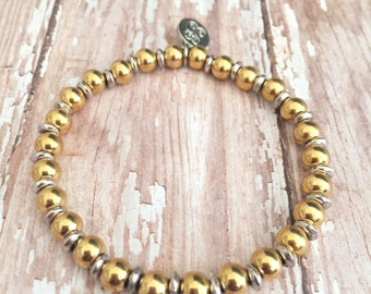 Gold/Silver Tiffany Bracelet