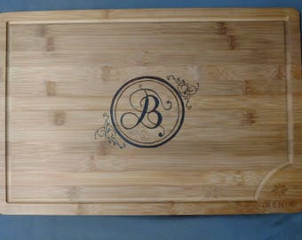 Engraved Wooden Cutting Board