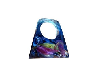 Blue Pond Ring