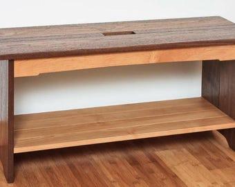 Blanket Bench Woodworking Plans