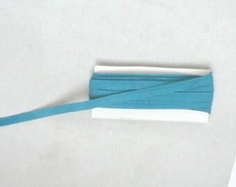 Duck Green Folded Cotton Bias - 9mm Width