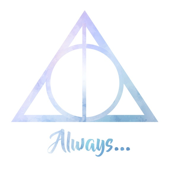 Harry Potter Always With Deathly Hallows Symbol