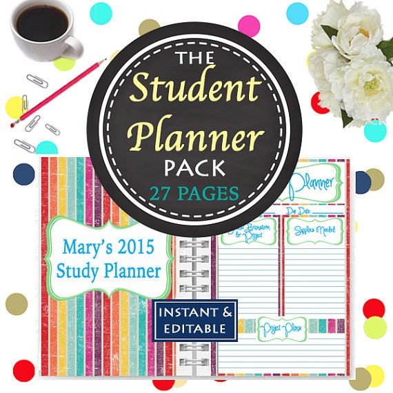 how to order student planner jcu