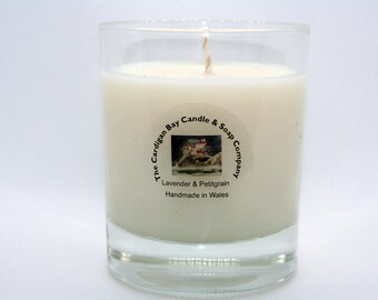 Lavender and Petitgrain Luxury Natural Soy Wax Candle
