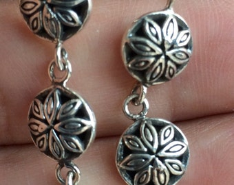 Balinese Handmade Sterling Silver Earrings