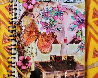 You are Braver than you Believe  Lined Notebook Journal