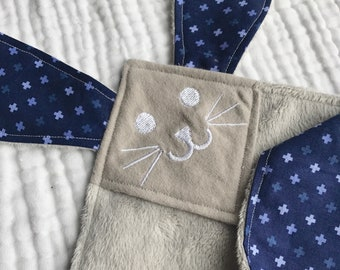 Criss Cross bunny lovey