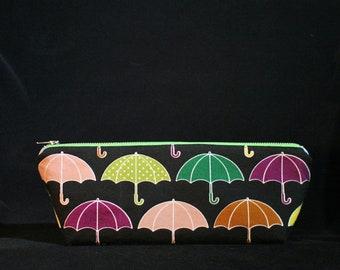 Rainy Days Triangle Zip Bag