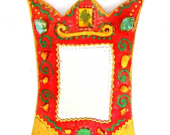 Vanity mirror ' Iris' 27 x 20 cm
