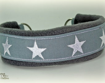 Dog collar STARS, Martingale