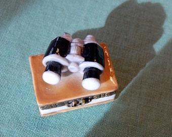 Hinged Ring or Trinket Box