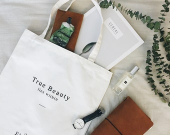 True Beauty Lies Within Tote Bag