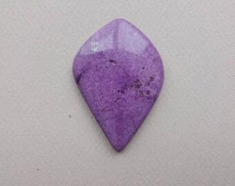 Stichtite Purpurite cabochon natural stone designer cabochon 36x25mm