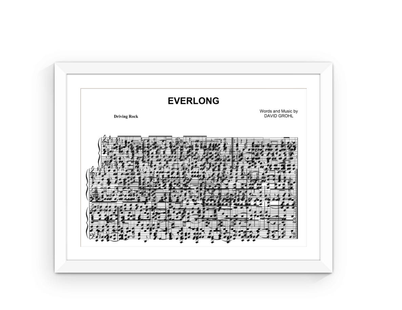 foo fighters everlong drum sheet music pdf