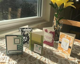 Handmade Animal Print Birthday Cards