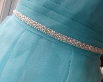 Wedding Sashes, Bridal Sashes, Bridesmaid sashes,Wedding sash belts, Pearl Beads Belt, Pearl Sash, Bridal Sash, Beaded Sash,