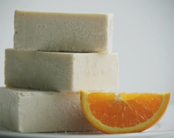 Citrus Summer Sea Salt Soap - Luxury Sea Salt Soap Bar - Essential Oil Soap