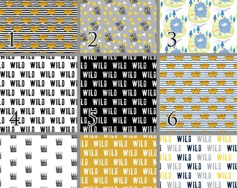 Wild Things Inspired Baby Bedding. Premium Crib Bedding. Choose your Design.