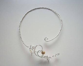 Twisted wire - Filiforme 3 necklace