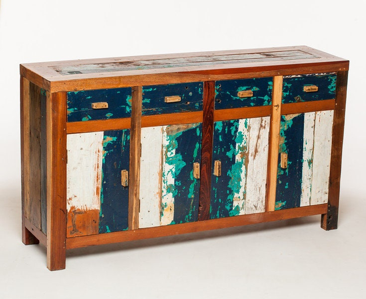 Reclaimed Sideboard Made Form Reclaimed Bali Boats