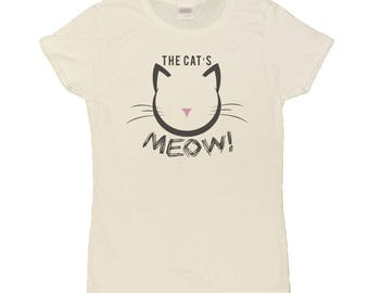 Ladies The Cat's Meow T-Shirt