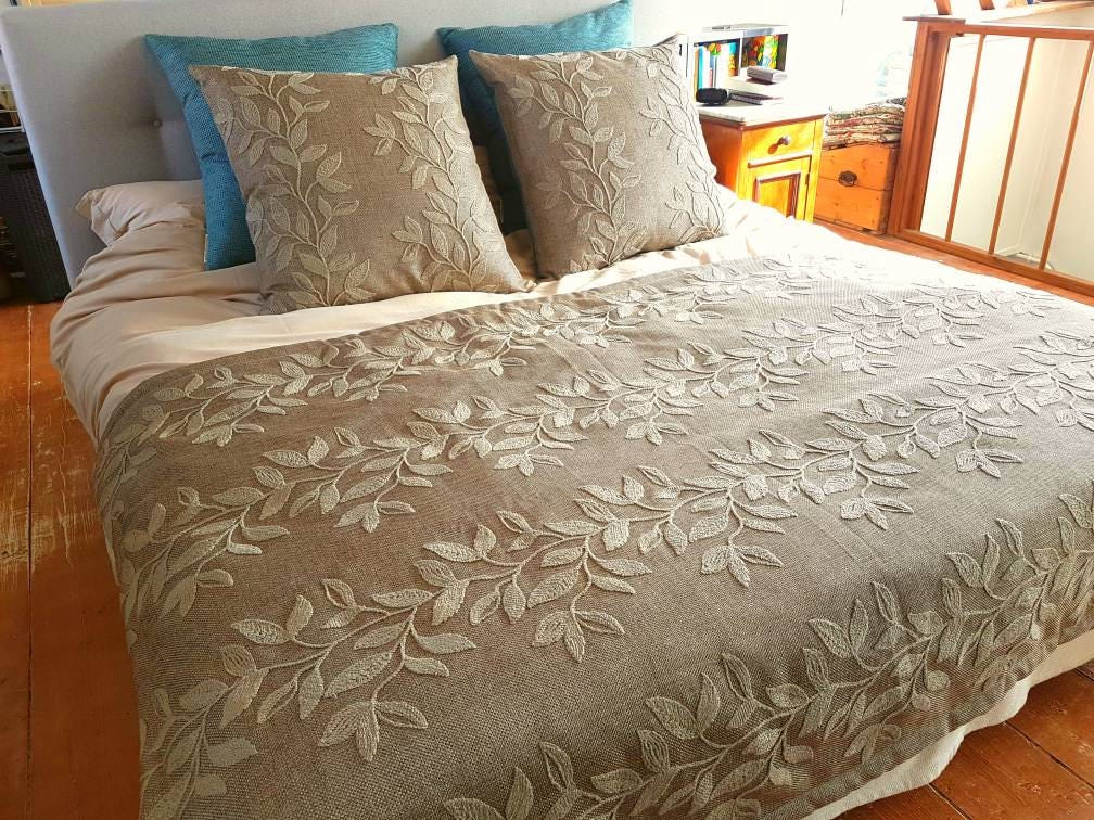 winter bett quilt und euro kissen cover set. Black Bedroom Furniture Sets. Home Design Ideas