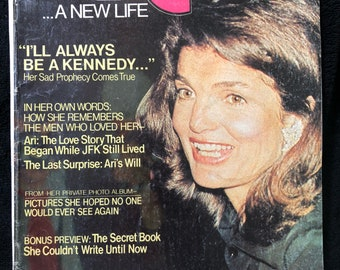 RARE 1975 Jackie Magazine- Collectors Issue