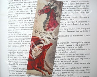 Bookmark red dragon
