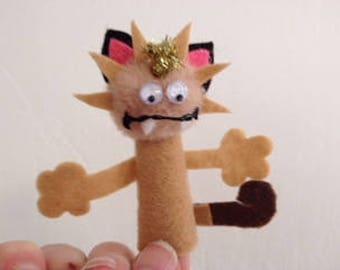 Meowth Finger Puppet