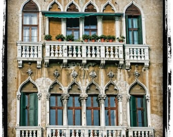 Juliet's Windowscape - Venice - Fine art travel photography