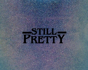 """Still Pretty multichrome holographic nail polish 15 mL (.5 oz) from the """"Curiosity Door"""" Collection"""