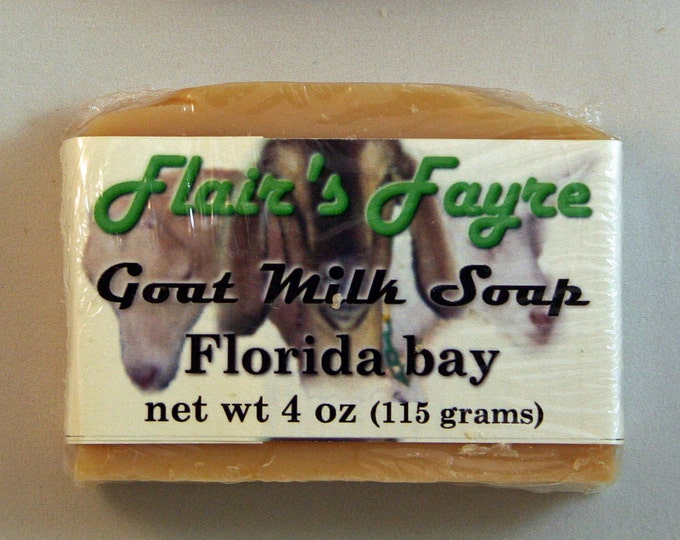 Featured listing image: Florida bay goat milk soap