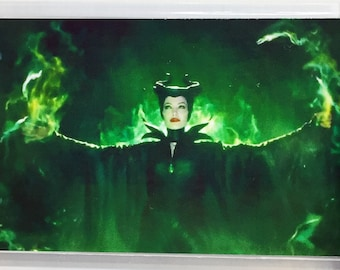 Maleficent Angelina Jolie Sharlto Copley Ellie Fanning movie poster Fridge Magnets & Keyrings Version 3 - New