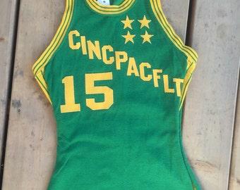 CINCPACFLT Basketball Jersey 1950s or 1960s