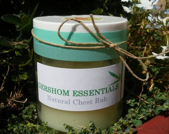 Natural Chest Rub made with CPTG Essential Oils